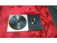 DJ hero for the wii £8