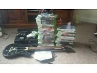 Xbox 360 + games + accessories