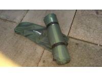 Air bed/self inflating mattress/mat