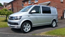 vw t6 transporter kombie highline ...low miles