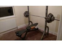 York weights bench Olympic 127.5kg