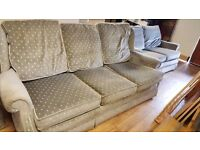 Three-seater Sofa in Grey in Good Condition