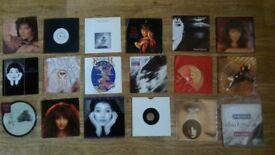 21 x kate bush vinyl singles collection