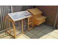 Chicken coop devon hen house with run