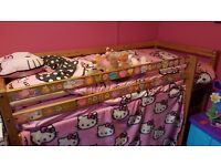 solid childrens bunk bed