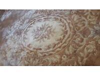 Large wool carpet