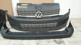 VW T6 Transporter front and back bumpers