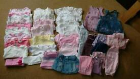 Girls clothes bundle 0-3 months