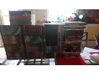 Large Selection of DVDs Including Stargate SG1, Stargate Atlantis, Prison Break Etc