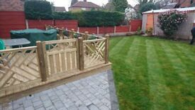 Decking Flagging and landscaping services Old Oak Gardens