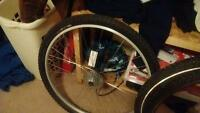 I'm selling my back rim complete