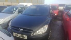 2002 PEUGEOT 307 LX HDI 1.4 DIESEL BREAKING FOR PARTS ONLY POSTAGE AVAILABLE NATIONWIDE