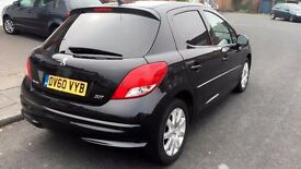 2010 Peugeot 207 sportium 1.6 hdi 92,12 month mot ,only £30 pound tax ayear