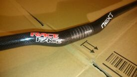 Race Face Next Carbon mountain hybrid bike handlebar 31.8mm x 670mm RRP £115