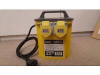 Transformer (Defender 3 KVA). 2 x 110V Outlets. 1 month use