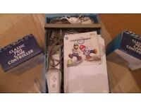 Nintendo Wii console + Mario Cart game