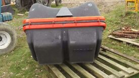 Kubota rear collector unit PTO driven