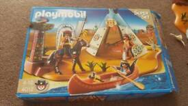 Smaller playmobil western set