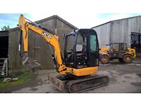 2011 JCB 8025 zts Digger very tidy condition only 922 hours £13450 +vat