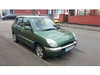Daihatsu Sirion 1.3 auto F-Speed CHEAP ROAD TAX AND INSURANCE CALL 02476880661