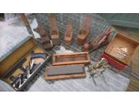 Series of 7 woodworking planes