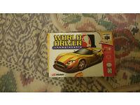 n64 rare usa game world driver championship