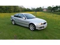 Bmw 318ci 2002 silver e46