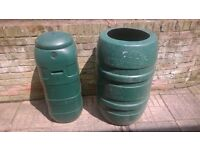 110Ltr and 225Ltr Water Butts for Sale £20 Each.