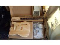 Harley Benton guitar kit
