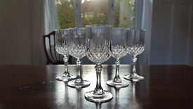 Crystal 5 Sherry Glasses
