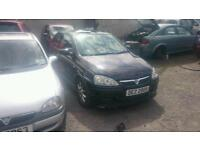 2005 vauxhall corsa exclusive plus 1 1.4 16v breaking