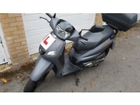 Scooter / Mopped Peugeot Tweet RS 125CC Only 2045 miles. 1 owner (myself)