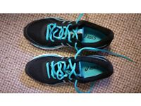 Asics UK Size 3.5 Women Running Shoes