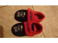 THOMAS THE TANK ENGINE SLIPPERS SIZE 10