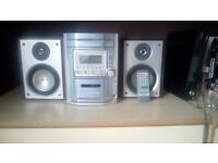 CD Player with 5 Disc changer/Radio/tape