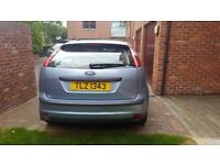 Ford Focus, Petrol, Automatic, Silvery Blue, 1.6, MOT till January 2017, Full Service done Aug 2016