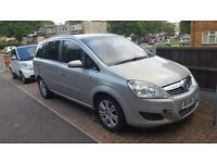2008 vauxhall zafira converted to LPG autogas 7 seater