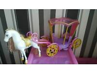 Disney horse and carriage