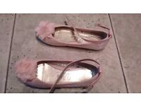 Girls shoes size 1 from Next, in very good condition