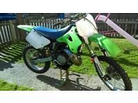 Kawasaki kx250 1998