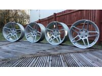 "18"" Genuine AC Schnitzer Wheels ( BMW e36 e46 e60 e90 Alloys Ronal Type 3 5x120)"