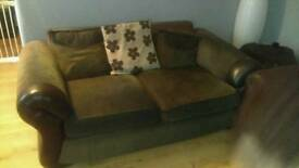 PRICE REDUCED 2 and 3 seater sofas
