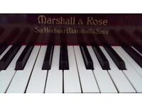 Baby Grand Piano (Marshall & Rose 1938)