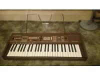 Casio Casiotone 405. Analog synthesiser circa 1983