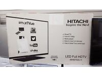 Hitachi tv 48 in smart led full hd brand new in box for sale in Coventry 12 month warranty