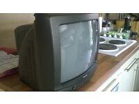 "FREE 14"" TV"