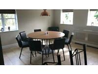 Dining room/restaurant tables and chairs