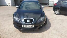 Seat Leon 2012 1.6TDI 5dr with LOW millage & FREE road tax