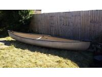Sold 15ft Mad River Canoe