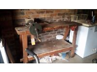 Joinery Bench - solid wood old fashioned work bench